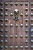 дверь lima собора деревянный Стоковое Изображение
