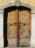 Дверь Lovley старая Стоковые Фотографии RF