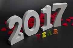 Две тысячи семнадцатых год Стоковые Изображения RF