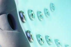 Двигатели бассейна спа заплыва стоковая фотография