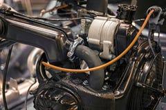 двигатель автомобиля старый Стоковое Изображение RF