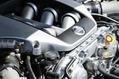 двигатель автомобиля стоковая фотография rf
