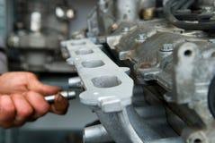 Двигатель автомобиля Стоковая Фотография