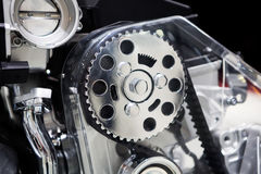 двигатель автомобиля стоковые изображения rf