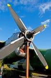 двигатель аэроплана Стоковые Фотографии RF
