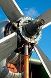 двигатель аэроплана Стоковое фото RF