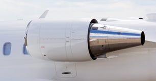 Двигатель воздушного судна двигателя Стоковые Изображения RF