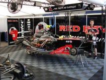 Двигатель гонки Стоковое фото RF
