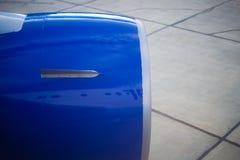 двигатель двигателя авиалайнера Стоковые Изображения