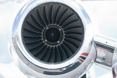 двигатель двигателя дела самолета Стоковые Изображения RF