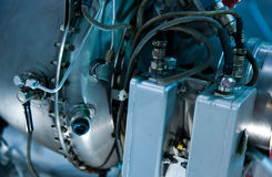 двигатель двигателя детали Стоковое Изображение