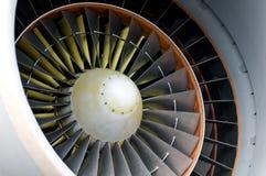 двигатель детали воздушных судн Стоковое фото RF