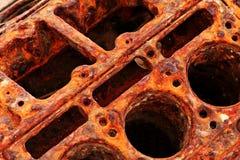двигатель детали ржавый Стоковое Изображение