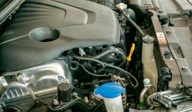 Двигатель (мотор автомобиля) Стоковая Фотография
