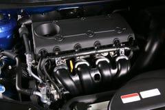 Двигатель нового автомобиля Стоковая Фотография