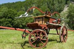 Двигатель пожарного сбора винограда Стоковое Фото