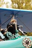 Двигатель поршеня авиации ретро Стоковые Фото