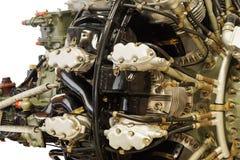 Двигатель поршеня авиации с радиальным расположением цилиндров Стоковое Изображение