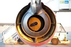 Двигатель турбины Стоковые Фотографии RF