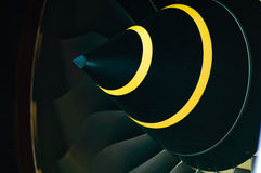 двигатель турбовентилятор конуса лезвий Стоковые Изображения RF