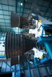 Двигатель ускорителя Сатурна v, центр Кеннеди Стоковое Изображение
