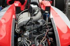 Двигатель участвуя в гонке гоночной машины Стоковые Фото