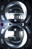 двигатель цилиндра Стоковые Изображения