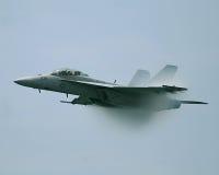двигатель шершня самолет-истребителя 18 f Стоковые Изображения