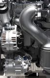 двигатель элементов прибора автомобиля Стоковые Фото