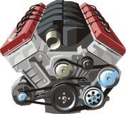 двигатель иллюстрация штока