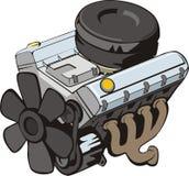 двигатель иллюстрация вектора