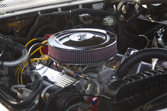 Двигатель 1966 Impala Chevy Стоковое фото RF