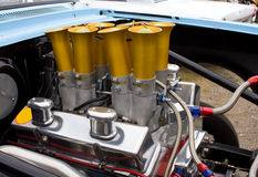 Двигатель 350 Chevy Chevrolet сбора винограда Стоковое фото RF