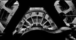 Двигатель B&W SS Великобритании стоковое фото rf