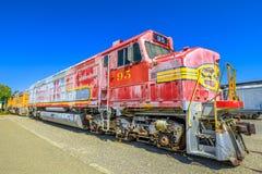 Двигатель Barstow Санта-Фе стоковое изображение rf
