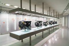 Двигатель BMW стоковые фото