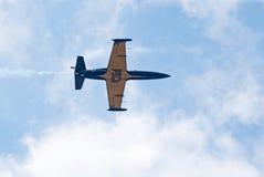 Двигатель L-39 от команды дисплея Russ Стоковое Изображение RF