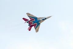 Двигатель MiG-29 от команды дисплея Strizhi Стоковое Изображение