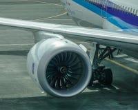 Двигатель 1000 Rolls Royce Trent стоковое изображение