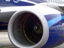 Двигатель авиации Стоковое Изображение RF