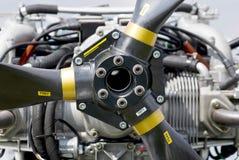 Двигатель авиации Стоковое фото RF