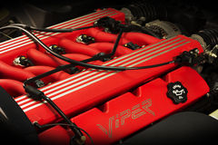 Двигатель автомобиля гадюки RT10 доджа супер Стоковые Фотографии RF
