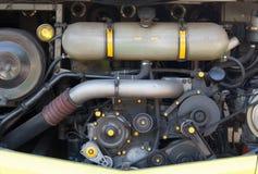 Двигатель автомобиля - современный мощный двигатель Стоковое Фото