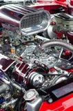 Двигатель автомобиля спорт Стоковая Фотография RF
