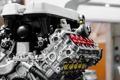 Двигатель автомобиля Turbo Стоковое Изображение RF
