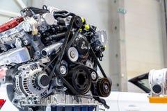 Двигатель автомобиля Turbo Стоковое фото RF