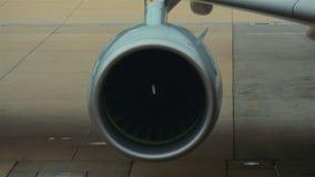 Двигатель аэроплана крыла акции видеоматериалы