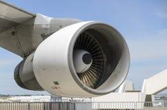 Двигатель Боинга Стоковая Фотография RF