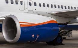 Двигатель Боинга 737 Стоковые Фото