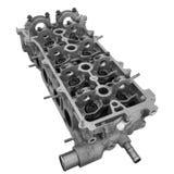 Двигатель внутреннего сгорания головки цилиндра Стоковая Фотография RF